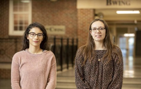 Cynthia Salinas-Cappellano and Hailey Collins received the QuestBridge scholarship.