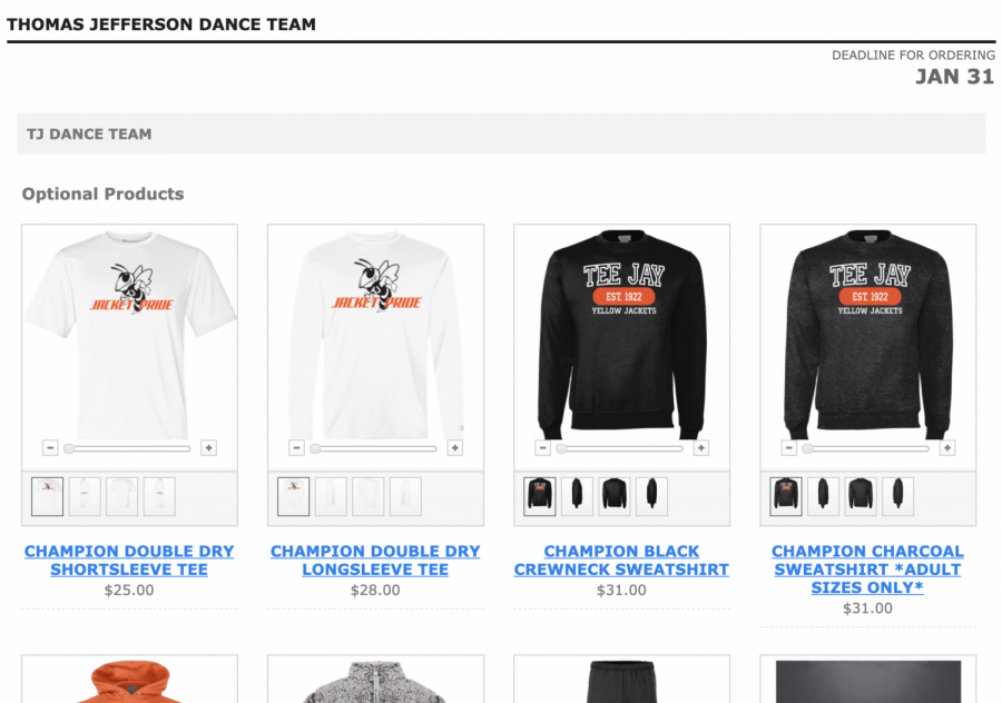 Jacket Dance Fundraiser (Clothing Store Opportunity)