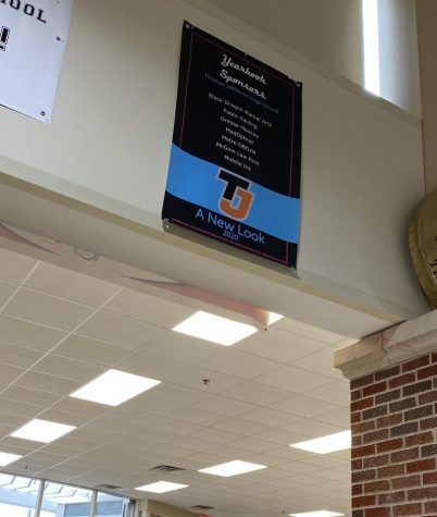 Thomas Jefferson Yearbook has finally been able to promote their yearbook by hanging up a sign in the commons. Buy your yearbook by the second week in March before the price raises!