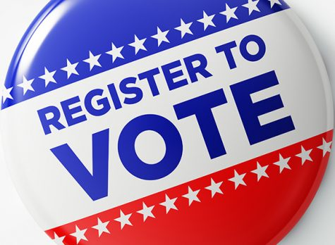 Register to vote by Saturday, Ocotber 24th to be able to vote in the 2020 presidential election!