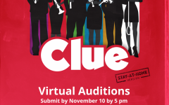 One of the advertising posters for Clue
