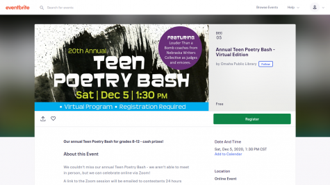 Visit eventbrite.com to register for the poetry bash.
