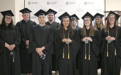 Early College Academy's 2019 graduating class, the first class to graduate from ECA